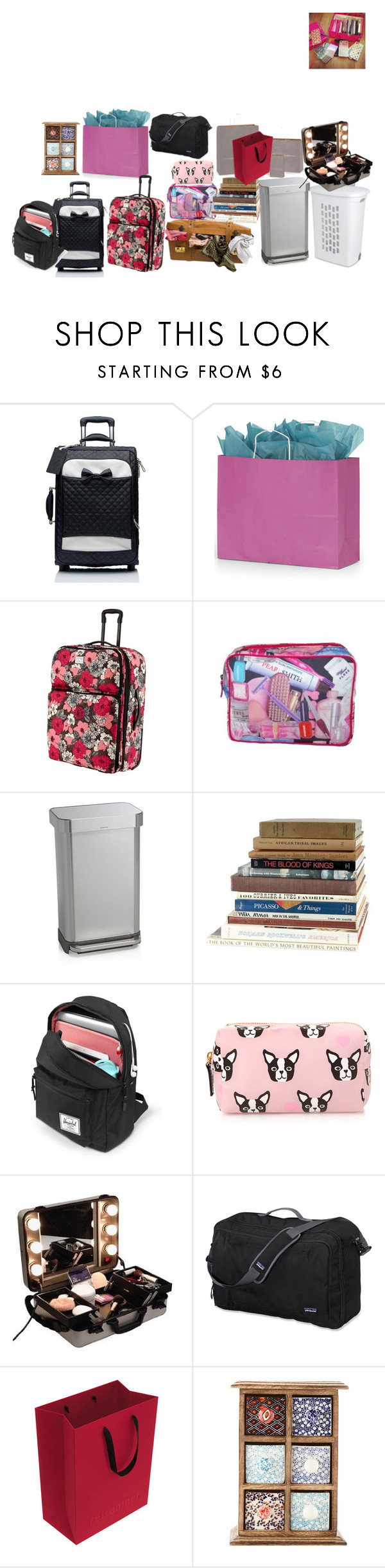 """""""Sem título #81"""" by renatareeh on Polyvore featuring beleza, Forever New, Sterilite, Vera Bradley, Paul Smith, Crate and Barrel, Forever 21, CO, Patagonia e Reisenthel"""