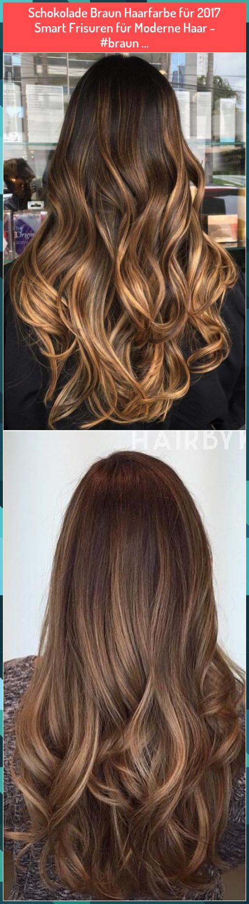 Schokolade Braun Haarfarbe für 2017  Smart Frisuren für Moderne Haar - #braun ... #Schokolade #Braun #Haarfarbe #für #2017 #Smart #Frisuren #für #Moderne #Haar ##braun #...