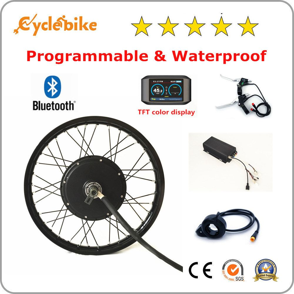 Top Sale 5000w Electric Bike Motor Kit With Programmable Controller