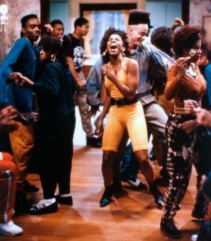 You Ve Got To Watch Aj Johnson Tisha Campbell Recreate Their Iconic House Party Dance Scene House Party Movie New Jack Swing House Party
