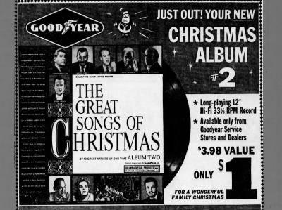 Goodyear Christmas Album - 1962 | Christmas Clippings | Pinterest ...