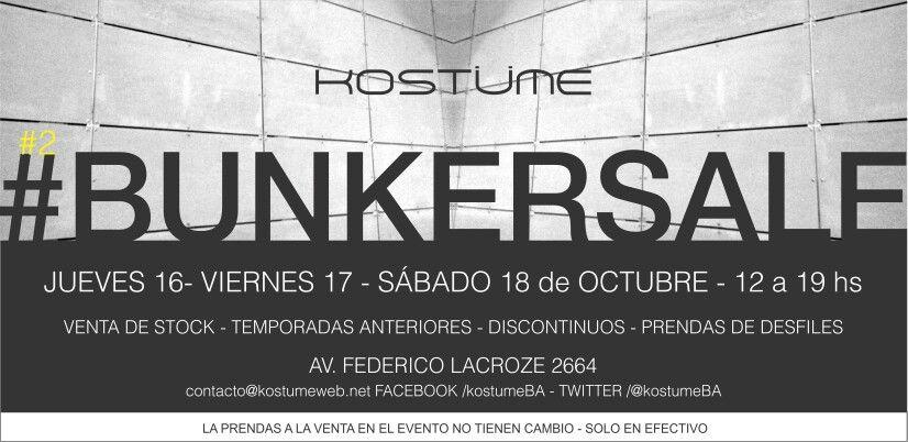 #BunkerSale