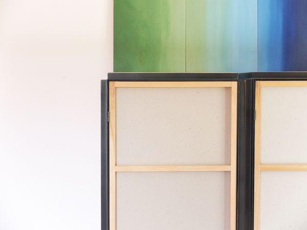 Tre mobili contenitori per il soggiorno struttura in for Mobili contenitori soggiorno