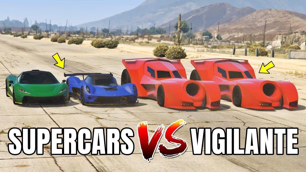 Gta 5 Online Vigilante Vs Supercars Part 02 Which Is Fastest