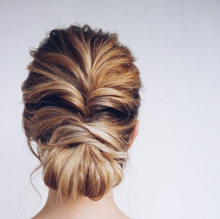 Wedding Hair Color Ideas: Beautiful Updo Hairstyle Ideas - Fabmood