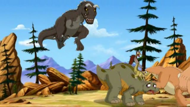 Horned Sharptooth (Journey of the Brave)/Gallery | Land Before Time