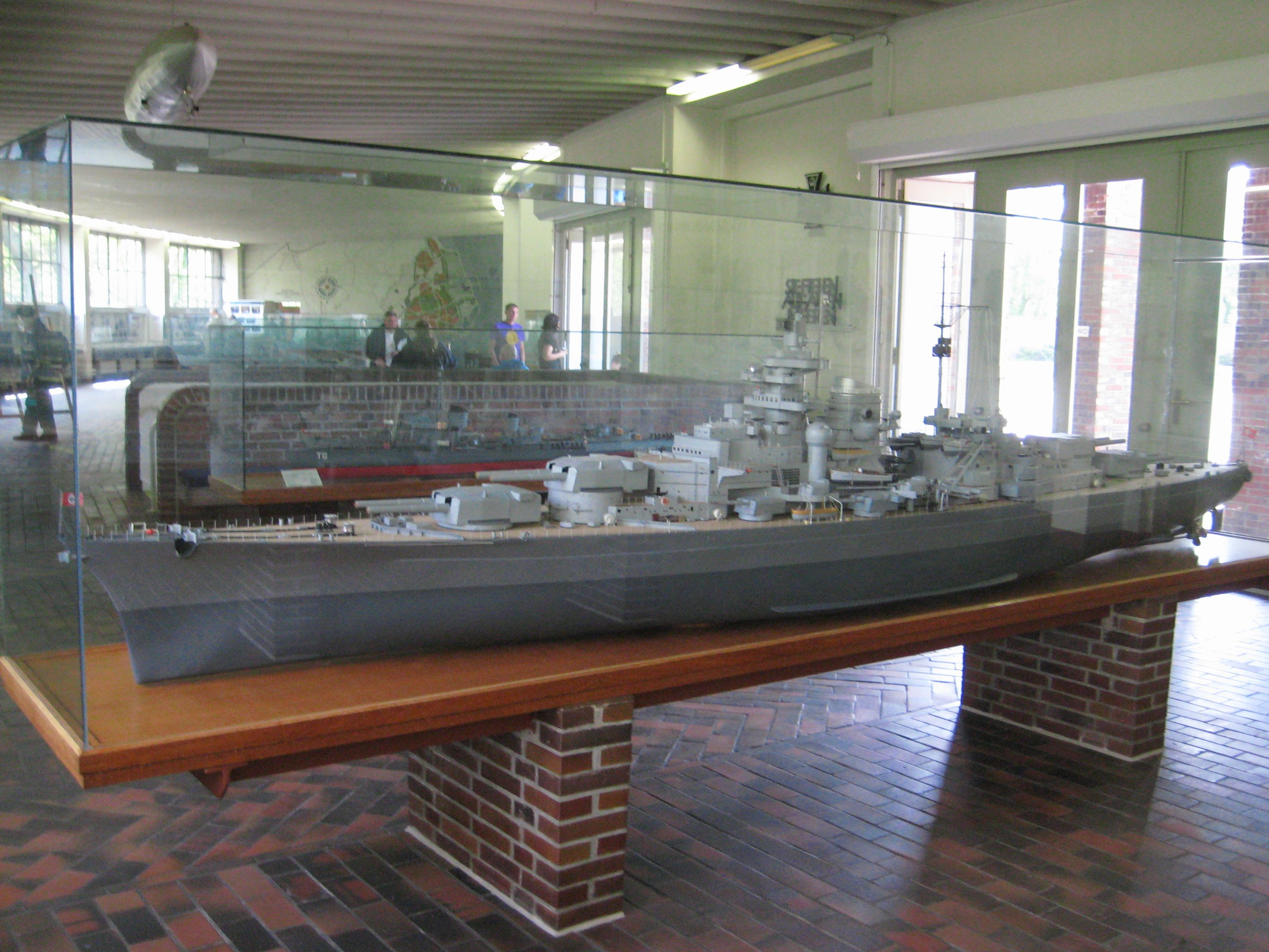 a scale model of the bismarck scale models a 1 50 scale model of the bismarck
