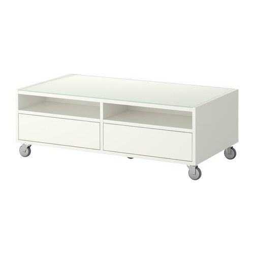 Boksel Coffee Table White Ikea For The Home