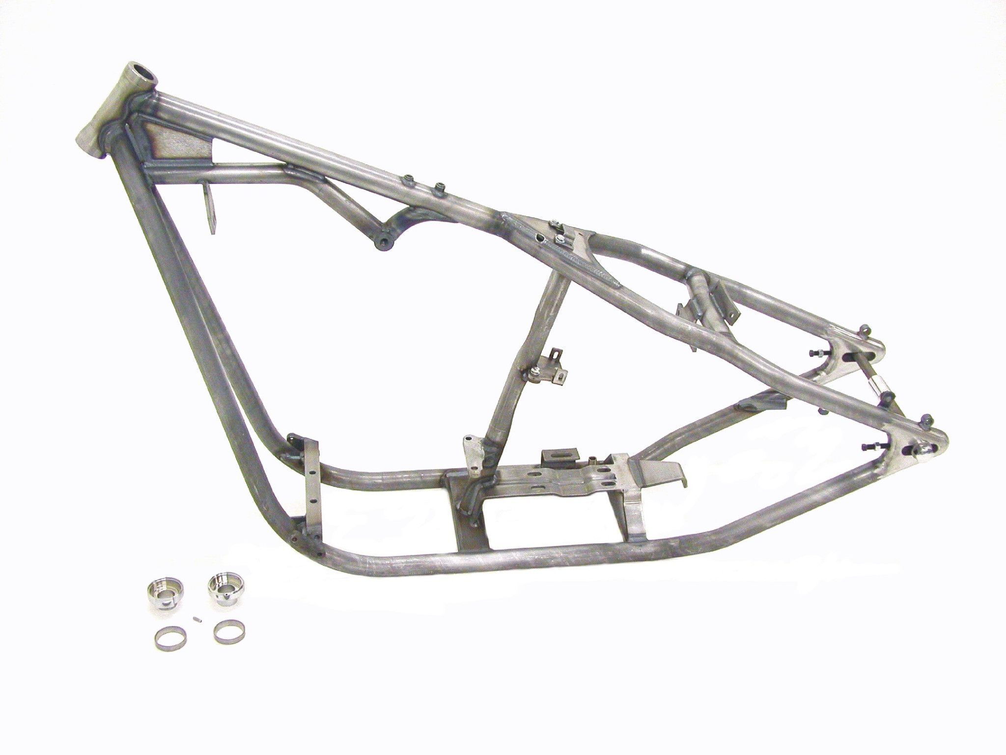 """Rigid frame for 180 width tires made from 1-3/8"""" tubing with 35 ..."""