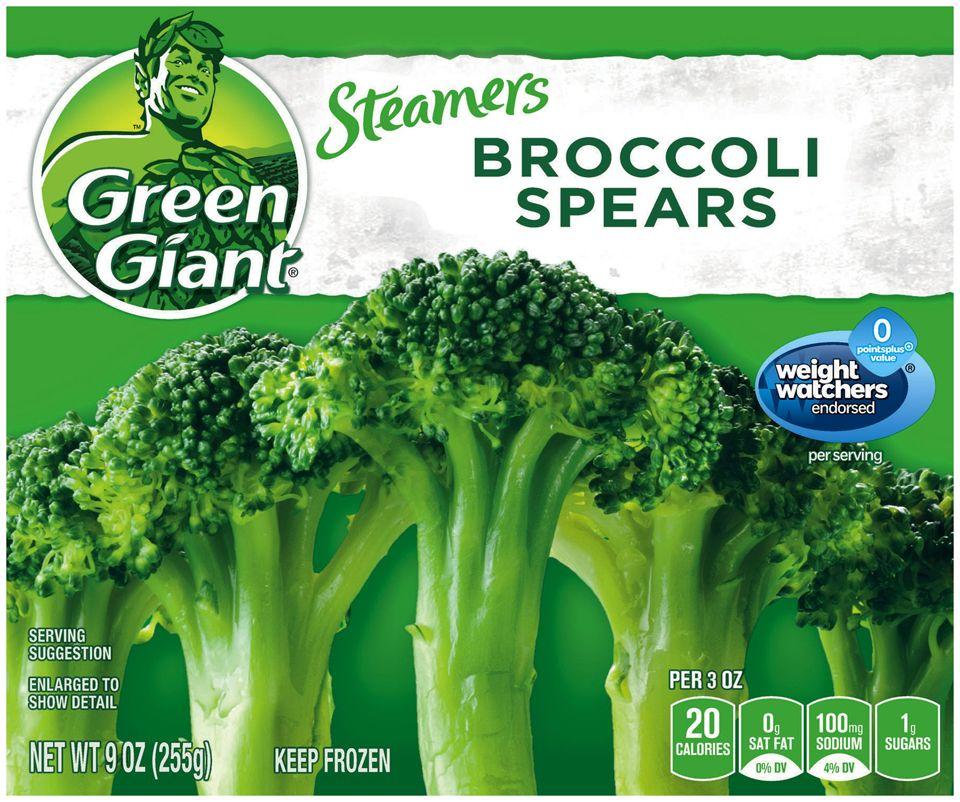 Green Giant® Steamers Broccoli Spears 9 oz. Box