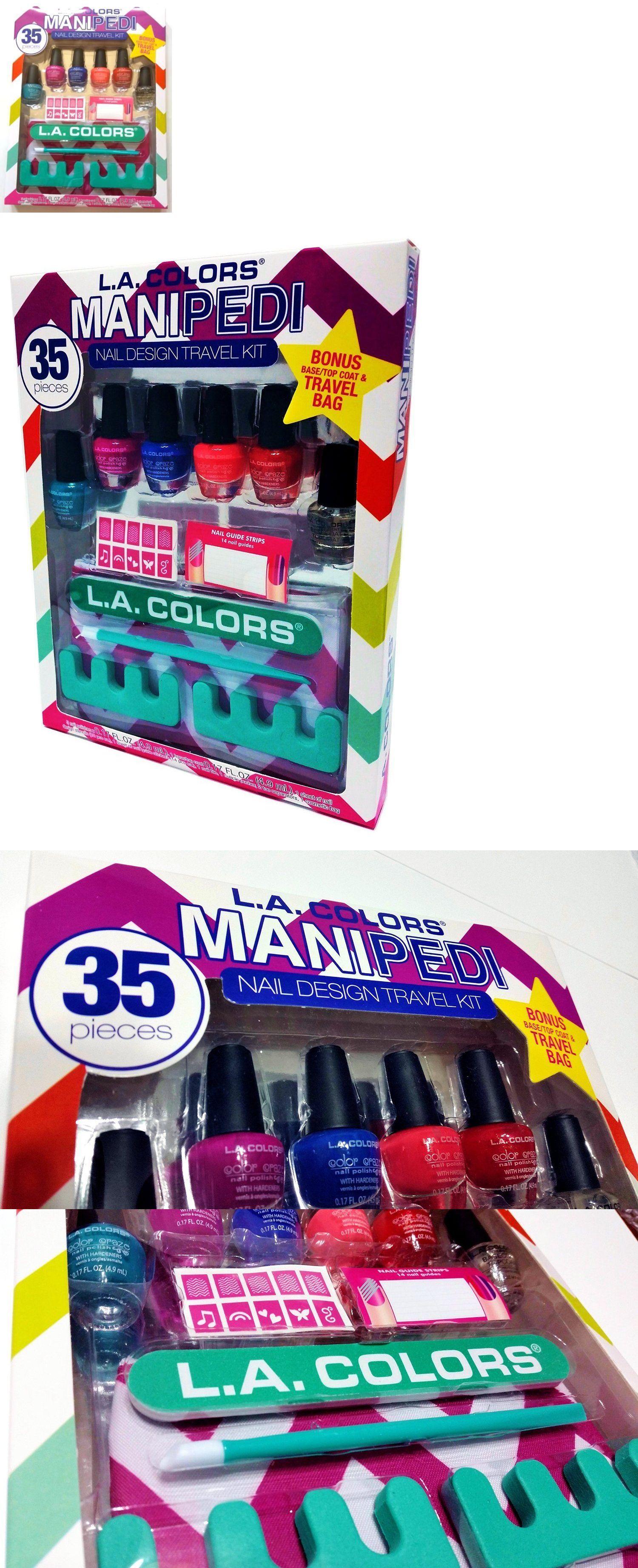 Manicure Pedicure Tools And Kits La Colors 35 Piece Mani Pedi