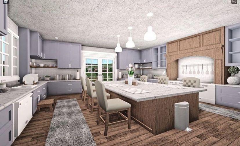 34 Best Bloxburg Kitchen Ideas Home Building Design Luxury House Plans House Rooms