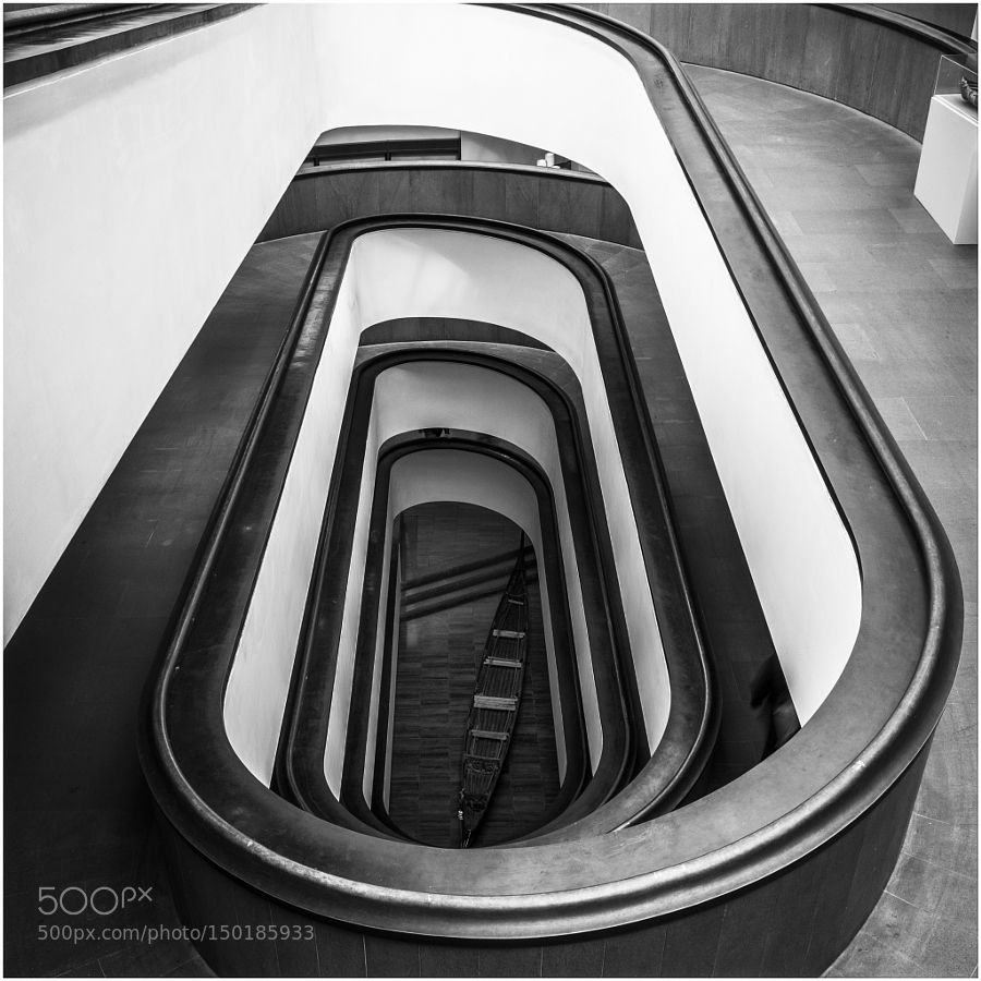 Vatican Museum Stairs by Budex. Please Like http://fb.me/go4photos and Follow @go4fotos Thank You. :-)