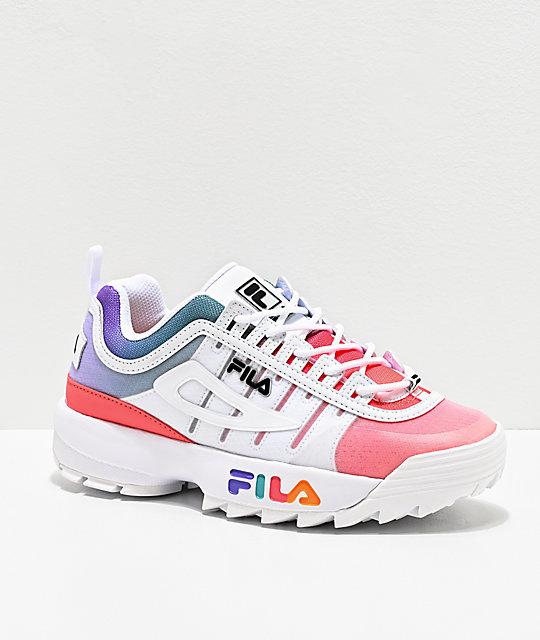 FILA Disruptor II Monomesh Pink