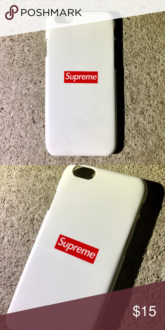 separation shoes f8152 757c6 Supreme Box Logo Case for any iPhone!! Brand New in the packaging ...