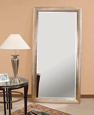 Silver Leaf Floor Mirror - furniture - Macy\'s | Entryways ...