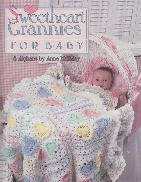 Sweetheart Baby Afghan Crochet Patterns - 8 Beautiful Designs with ...