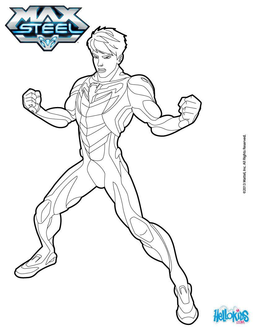 Max Mcgrath Coloring Page Desenhos Animados Para Colorir