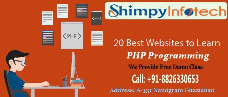 Php Web Designing Classes In Nandgram Ghaziabad Shimpyinfotech Call 8826330653 Seo Training C Programming Cool Websites