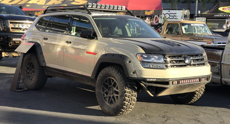 Tanner Foust Vw >> Lge Cts Vw Atlas Ready For Rally Thanks To Tanner Foust