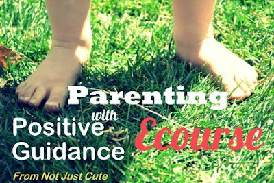 Toddler Approved!: Parenting with Positive Guidance E Course via @Amanda Morgan @ NotJustCute. Awesome tools for parents.