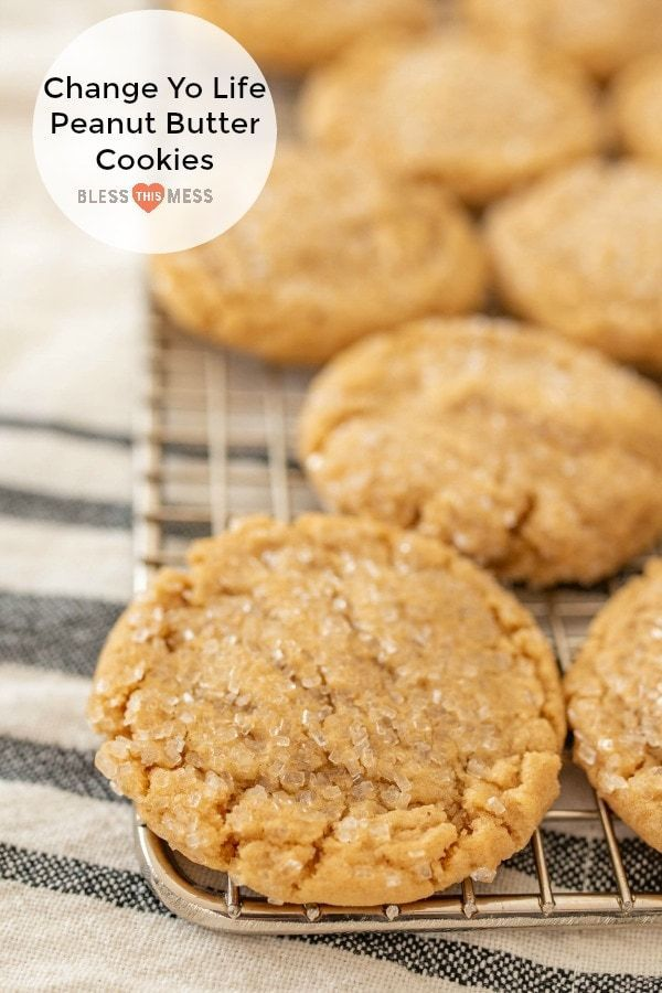 Easy Peanut Butter Cookies Recipe | The BEST Cookies Ever! #peanutbuttersquares