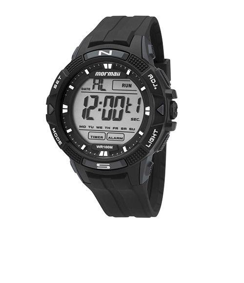 40b651e5fbc6c Informações do Relógio Marca  Mormaii Estilo  Esportivo Mecanismo  Digital  Modelo  MO5001 8C Gênero  Masculino Características Material da Caixa   Plástico ...