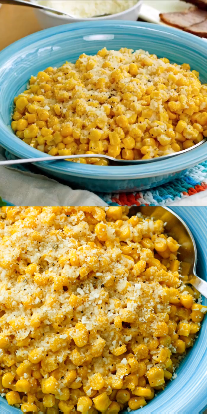 Photo of Brown Butter Parmesan Corn