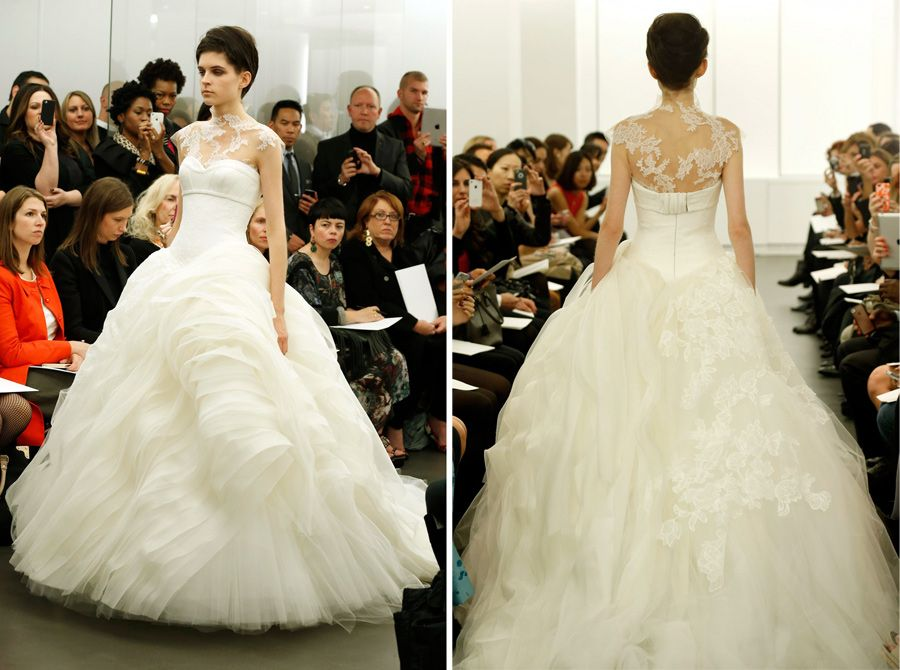 2000s wedding dress inspired by Crinoline: Vera Wang Fall 2013 ...
