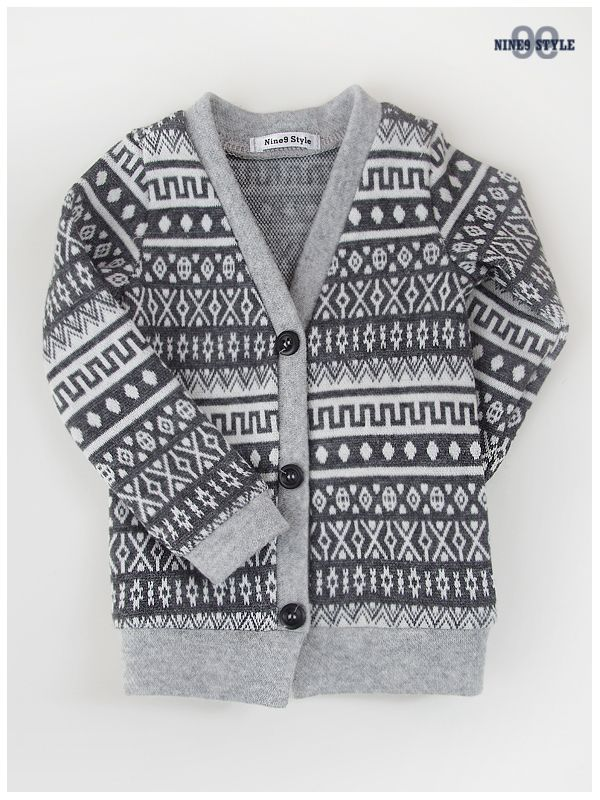Nine9 Style - MSD Indian Cardigan (Gray)