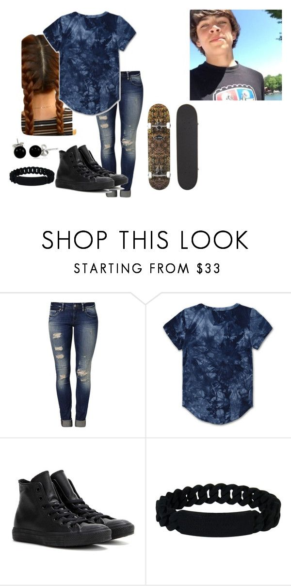 """hayes"" by hipster-made ❤ liked on Polyvore featuring Mavi, Converse, Marc by Marc Jacobs and Bling Jewelry"