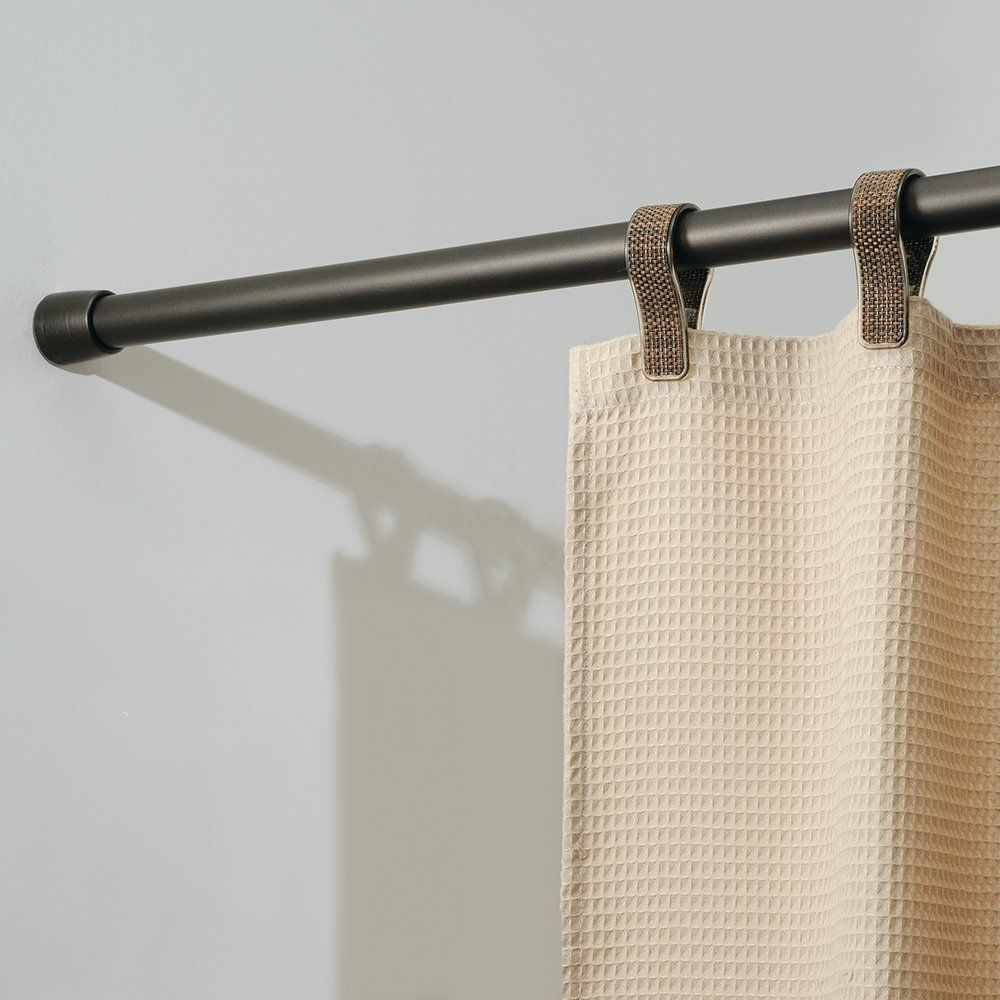 Amazon Com Interdesign Cameo Shower Curtain Tension Rod Bronze 50 87 Inch Extra Long Shower Rod Cool Shower Curtains Curtain Rods Shower Curtain Rods Tension curtain rod extra long