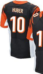f35b52bc4  78.00--Kevin Huber Jersey - Elite Black Home Nike Stitched Cincinnati  Bengals  10