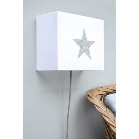 Lampara Infantil De Pared Estrella Aplique Applique Murale Etoile Lamparas De Pared Lampara De Pared Decorar Con Estrellas