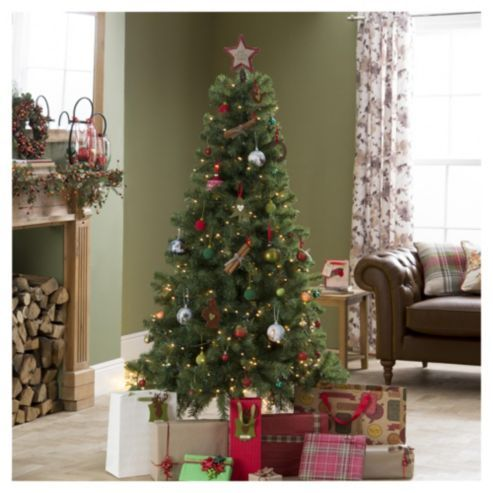 Evergreen Fir 6ft Christmas Tree Tesco