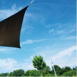 Mast mit Standfuß für SonnensegelIkarus.de #sonnenschutzterrasse
