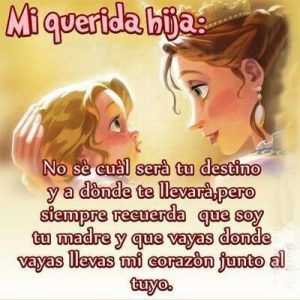 Imagenes De Amor Para Tu Hija 3 Hija Pinterest Mother Daughter