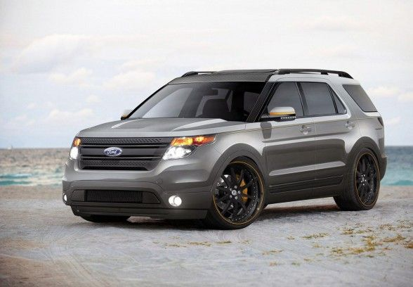 2014 Ford Explorer Side View  Ford  Pinterest  2014 ford