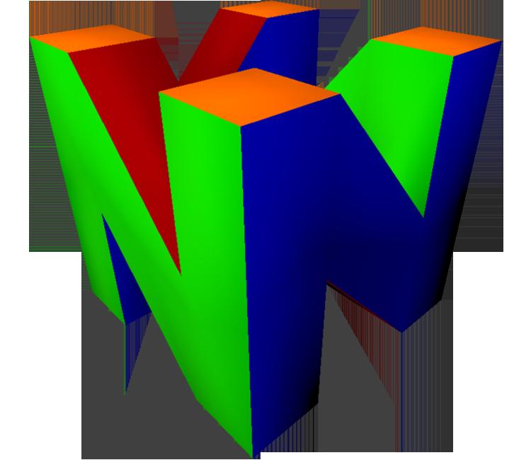 N64 Logo 2nd Design Logos N64 Gaming Logos
