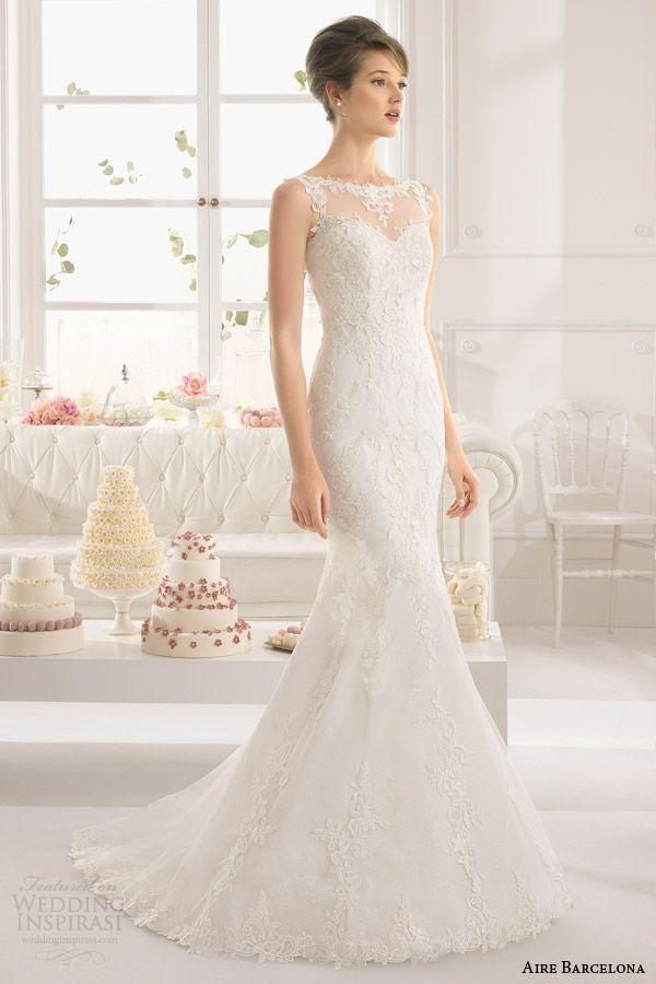 Aire Barcelona Wedding Dresses 2015 | Aire barcelona, Bridal 2015 ...