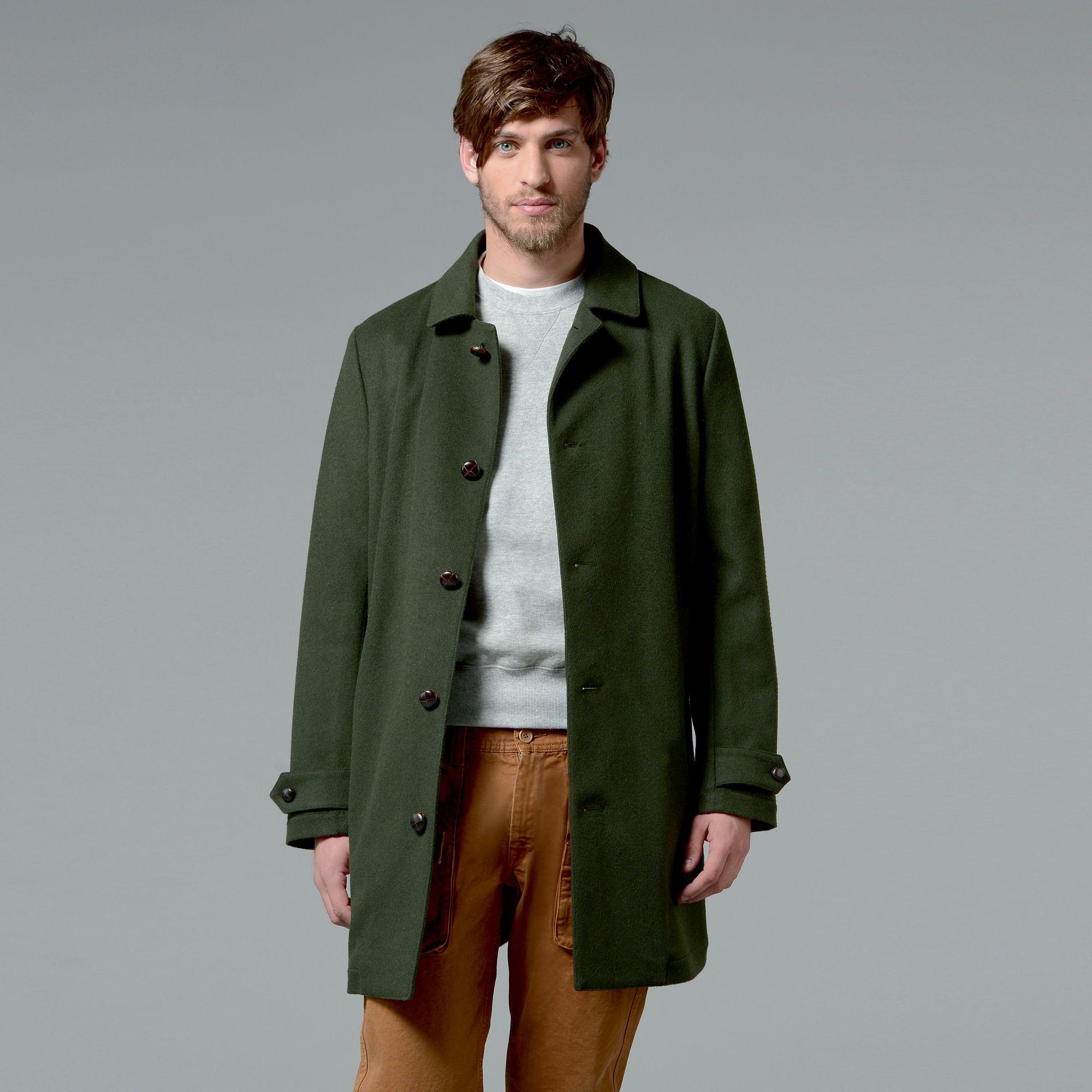 adb2d39ca2 Loden Perfetto Wool Coat | Aspesi | Abbigliamento