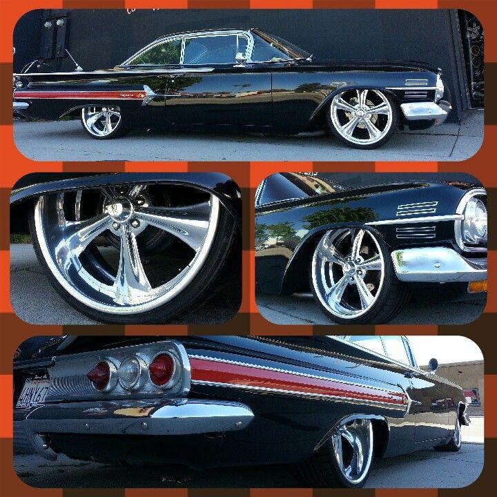 1960 Chevy Impala On Intro Wheels By Wheels N Motion Classic Cars Trucks 1960 Chevy Impala Impala