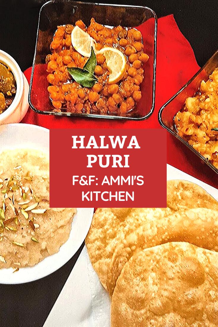 Halwa Puri Pakistani Brunch F F Ammi S Kitchen Best Dinner Recipes Puri Recipes Beef Recipes