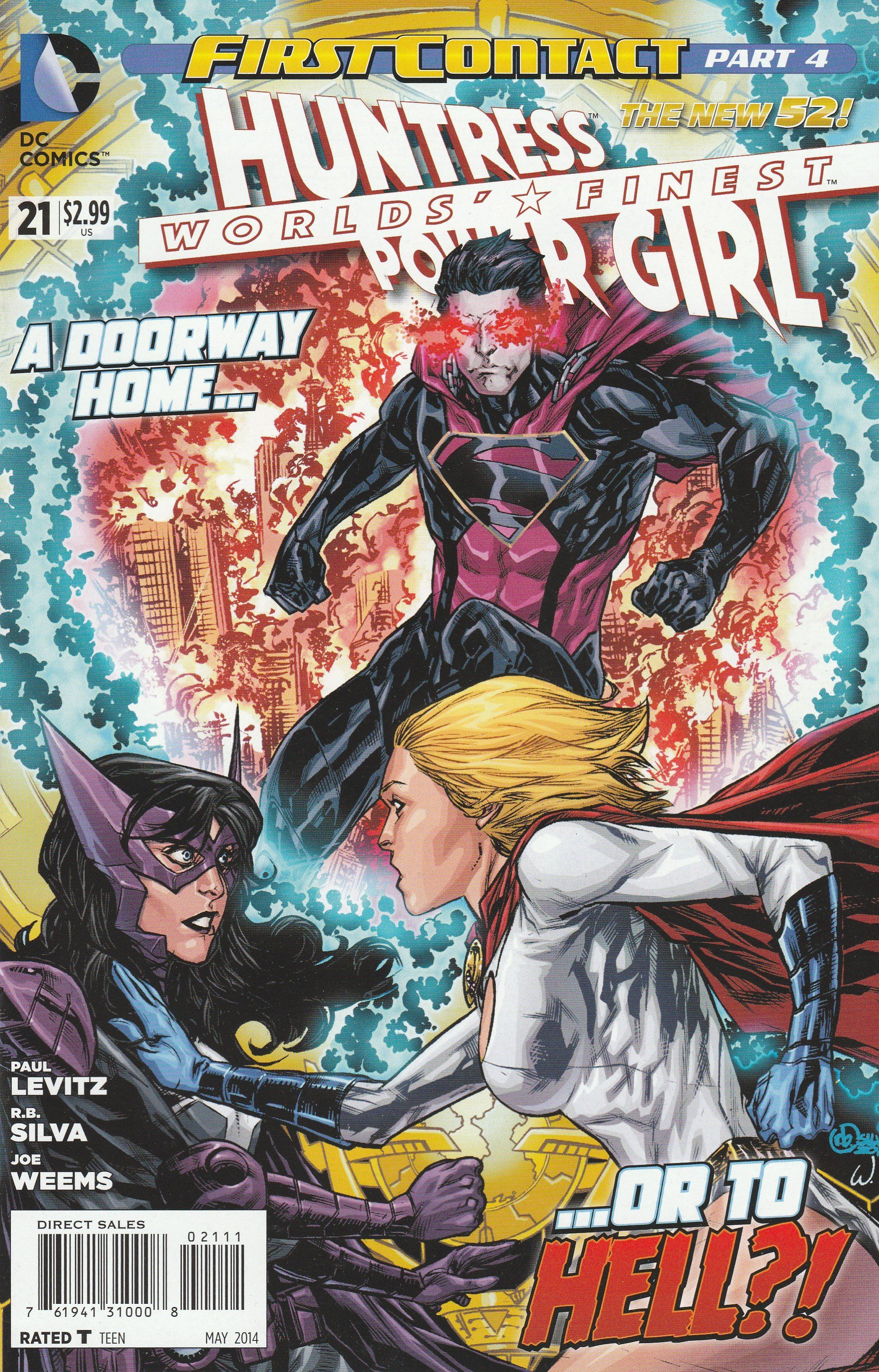 Worlds' Finest 21 DC Comics The New 52! Vol 3 Comics