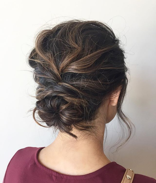 Effortless Bridesmaid Upstyles: Wedding Hairstyles, Hair