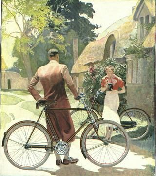Raleigh Bicycle poster