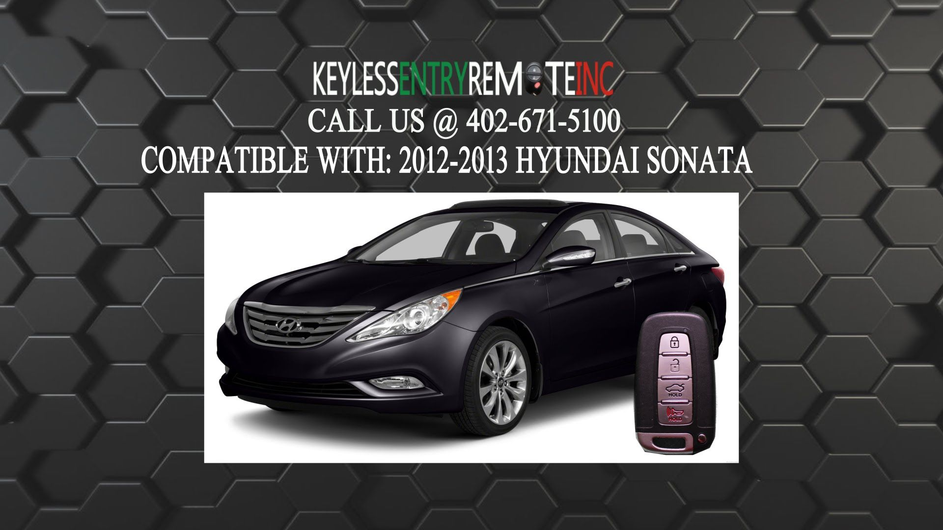 How To Replace Hyundai Sonata Key Fob Battery 2017