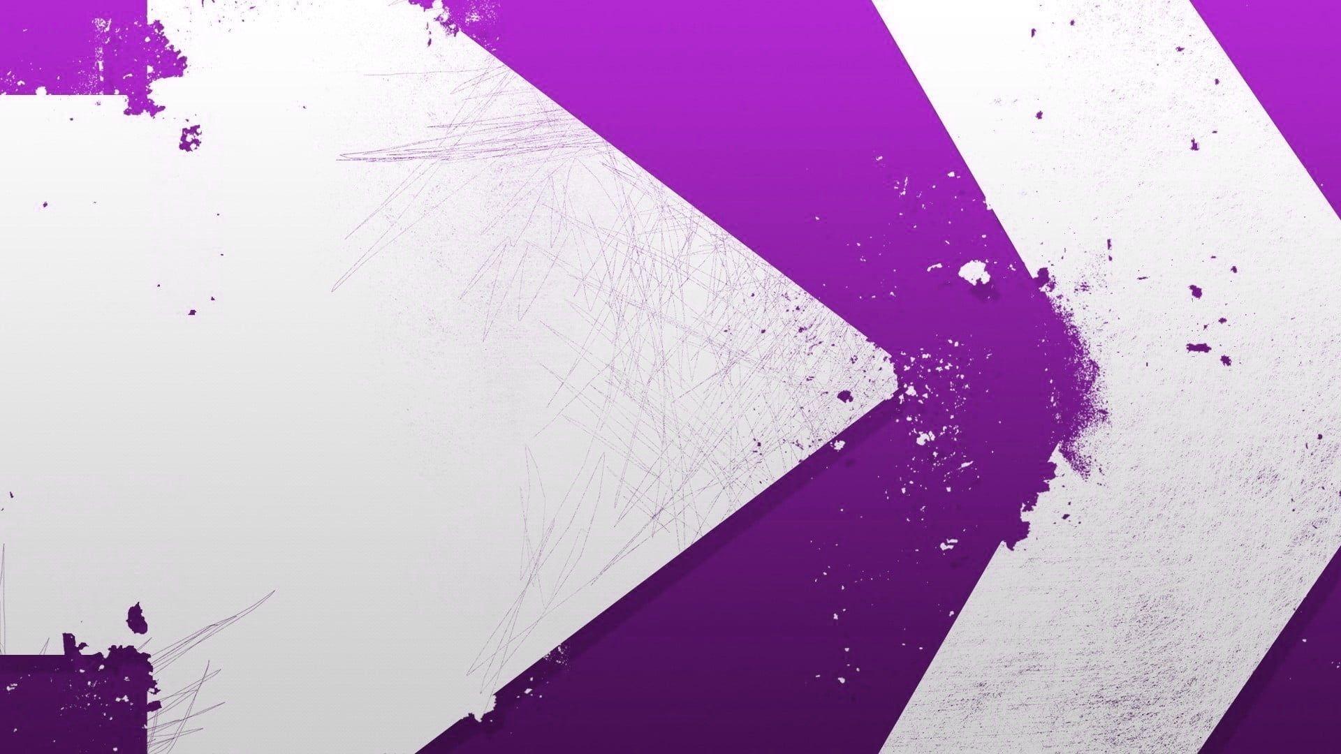 Minimalism Arrows Design Purple White Wallpaper Https Www Wallpapermania Website