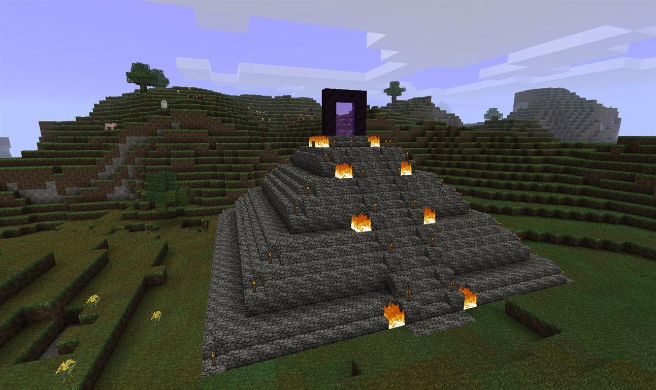 Minecraft nether portal designs google search for Portale design