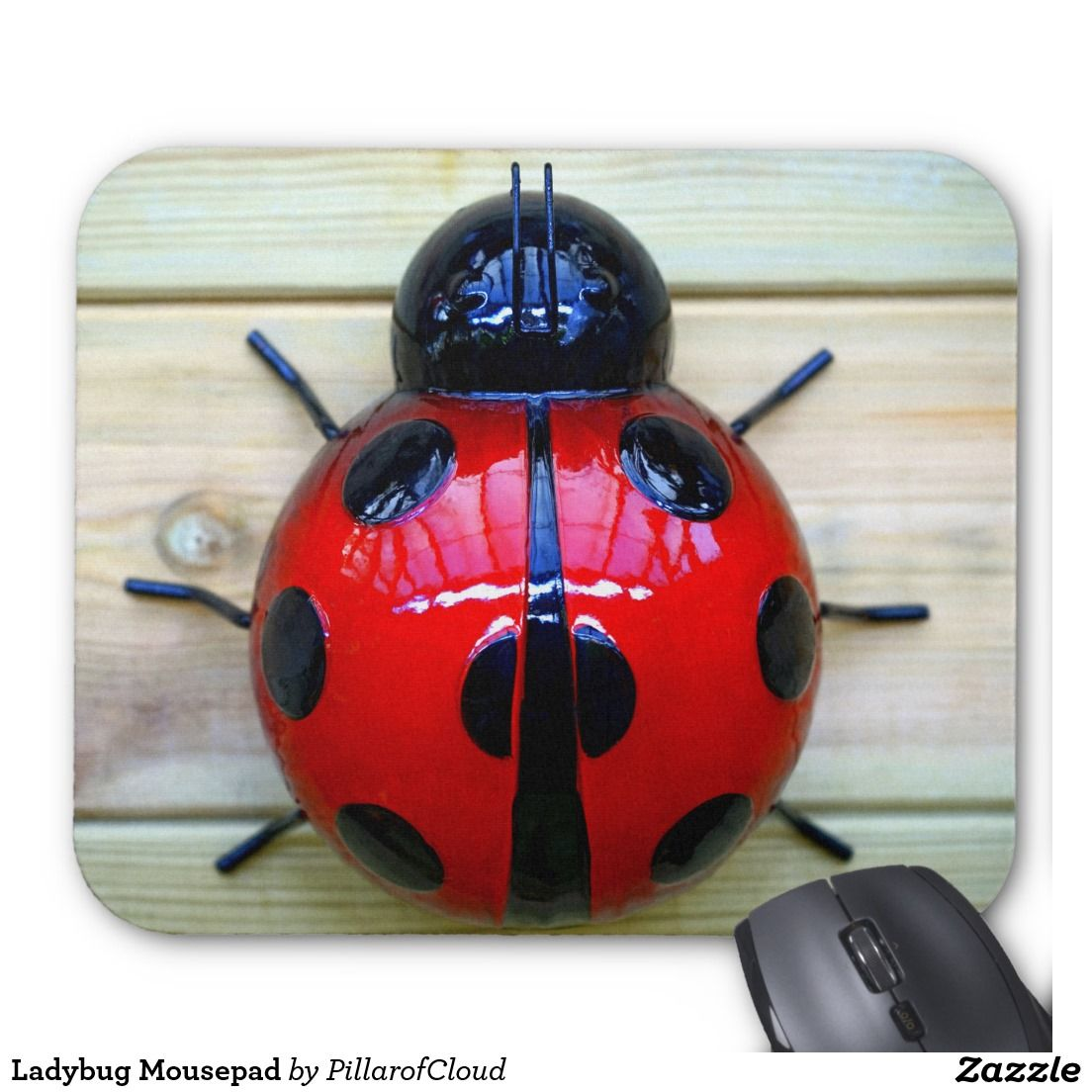 Ladybug mousepad monkey gifts pure products